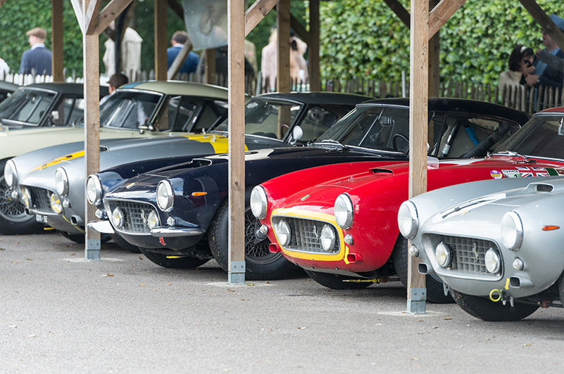 Stunning cars everywhere, Goodwood Revival